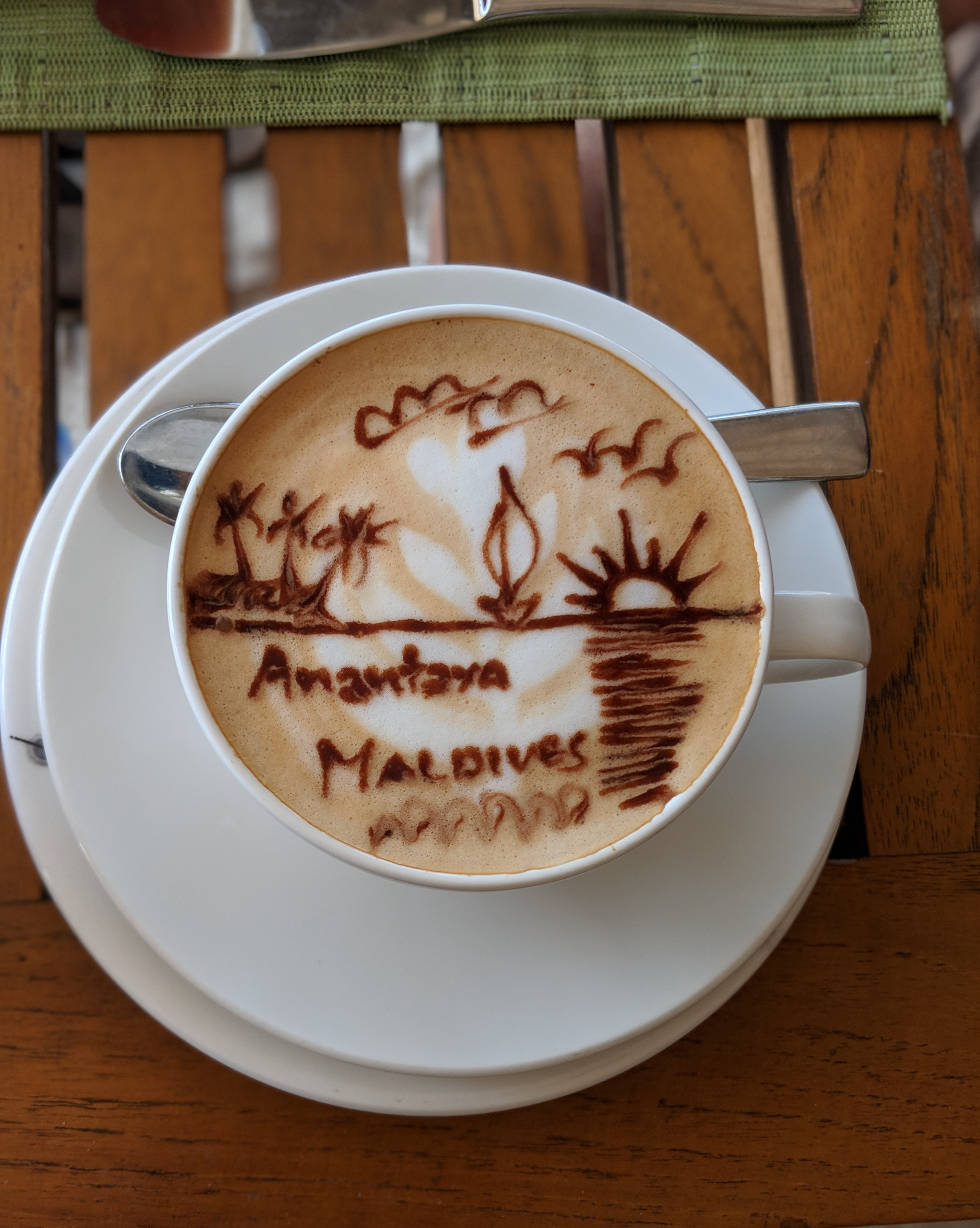 Morning coffee fix ☕