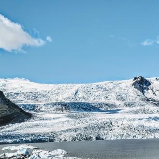 Glacier Ice shelf